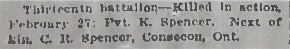 Newspaper clipping– From the Daily Colonist of March 12, 1915. Image taken from web address of https://archive.org/stream/dailycolonist57y79uvic#mode/1up