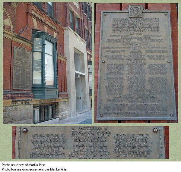 Massey Harris Co. War Memorial