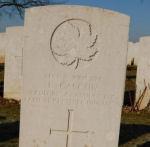 Grave Marker– Taken 16 February 2008. by Mick Brand