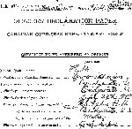 Attestation Paper– Source: Library and Archives Canada