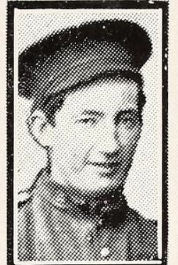 Photo of JAMES MOYNIHIN– Photo from the National Memorial Album of Canadian Heroes c.1919. Submitted for the project, Operation: Picture Me.