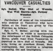 Coupure de presse – Extrait du Daily Colonist of May 9, 1915. Source: https://archive.org/stream/dailycolonist57y129uvic#mode/1up