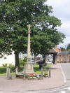 Memorial– This is the War Memorial in Abbots Bromley, Staffordshire, England where Gilbert Cooper was born and on which his name is commemorated.
