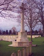 Memorial Cross– Memorial Cross at Bailleul Cemetery