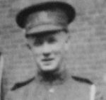 Photo of George Galloway– In memory of the Harbord Collegiate Institute students who served during World War I and World War II and did not return home. 