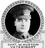 Photo of William Huston– From: The Varsity Magazine Supplement Fourth Edition 1918