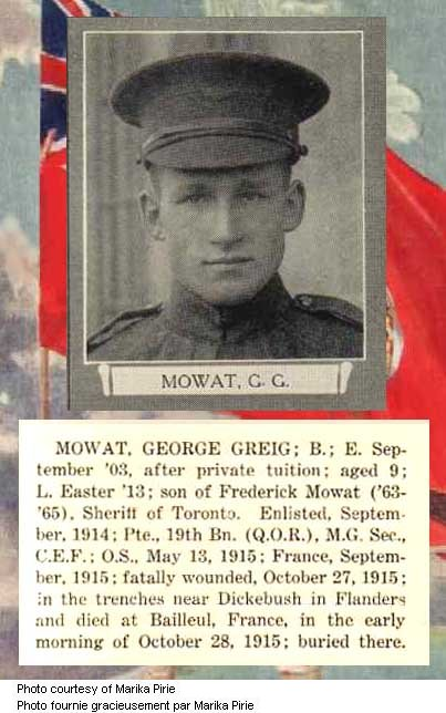 Photo of George Grieg Mowat