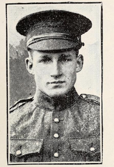 Photo of GEORGE GREIG MOWAT– Photo from the National Memorial Album of Canadian Heroes c.1919. In memory of the members of the 15th, 92nd and 134th Battalions (48th Highlanders) who went to war and did not return. Submitted for the project, Operation: Picture Me.