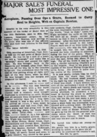 Newspaper clipping– London Advertiser. February 16, 1916. Page 11. Contributed by E.Edwards www.18thbattalioncef.wordpress.com