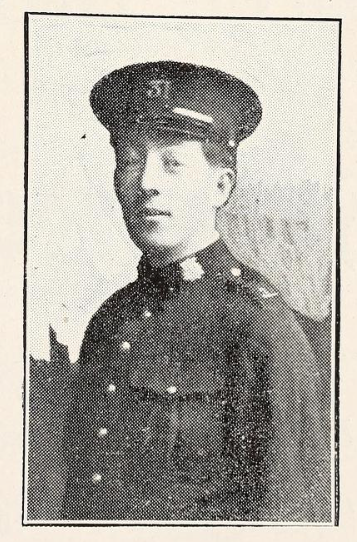 Photo of GORDON CHARLES TUCKER– Photo from the National Memorial Album of Canadian Heroes c.1919. Submitted for the project, Operation: Picture Me.