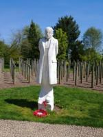 Memorial– Private Fortunat Auger is also commemorated at the Shot at Dawn Memorial, National Memorial Arboretum, Staffordshire, UK - May 2019 … photo courtesy of Marg Liessens