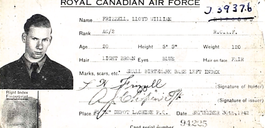 Photo of LLOYD WILLIAM FRIZZELL– Submitted for the project, Operation Picture Me