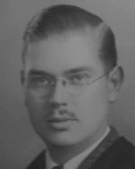 Photo of Lewis Burpee– Lewis Burpee D.F.M., B.A. graduate 1940 Queens University.