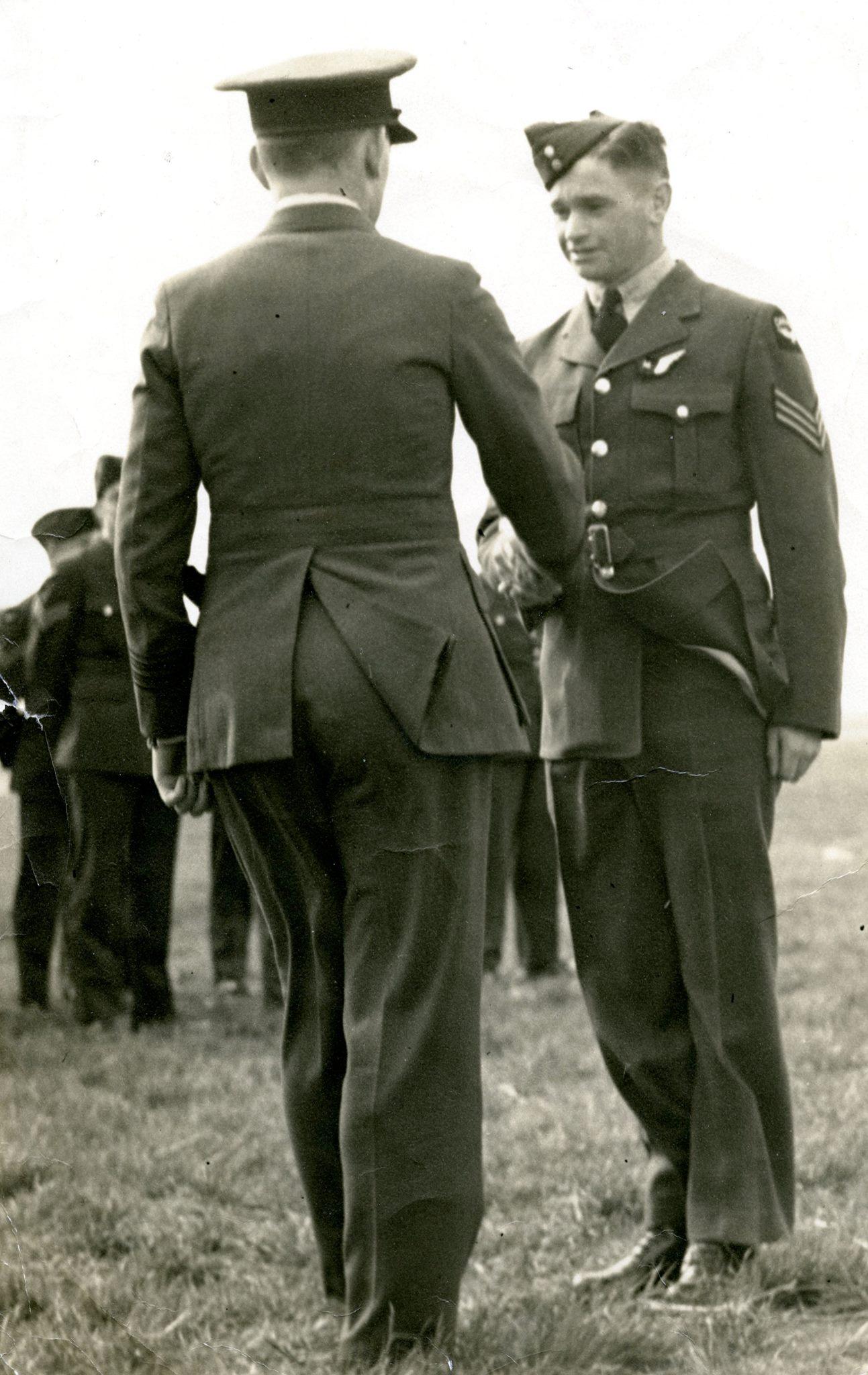 Photo of William Calder– on his graduation.