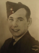 Photo of John Magill– In memory of the students from Western Technical School, Toronto who served during World War II and did not return. Submitted for the project, Operation: Picture Me.