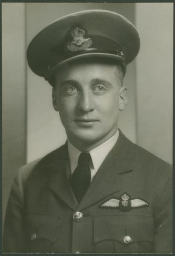 Photo of James Basil Doak– Flight Lieutenant James Basil Doak courtesy McGill University archives.