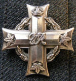 Silver Cross– Mother's silver cross from brother Keith in Seeley's Bay.