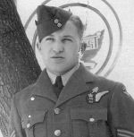 Photo of Nelson Robert Perry– Photo courtesy of Keith Perry, Seeley's Bay, brother of Nelson. Photo of then Sgt. Perry on leave after receiving his AG wings.