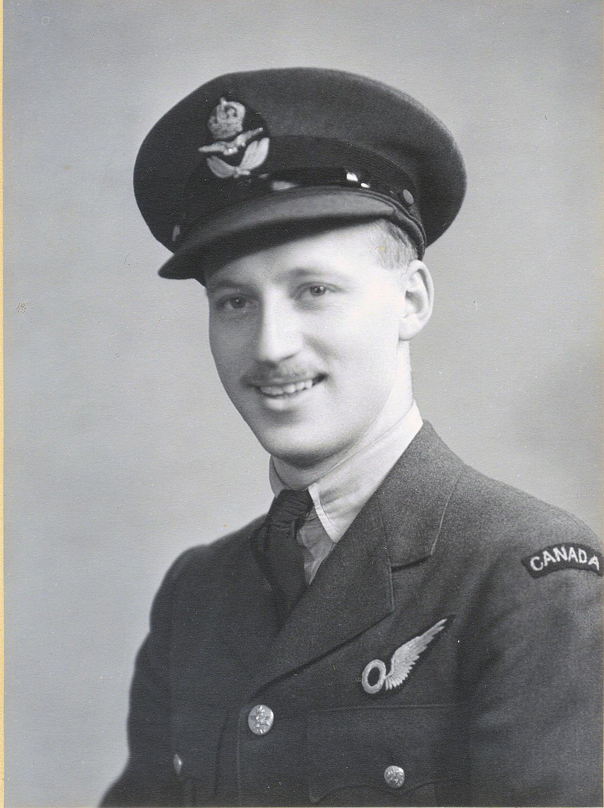Photo of Wilson Albert Reason– Willie in his RCAF uniform Wilson - June 17, 1918 to 30 May 1942