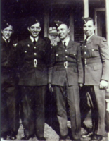 Group Photo– Ralph Dunn, Carman Richards, Wilbur McColl, Walter Richards. (may or may not be in order)  Submitted for the project, Operation Picture Me