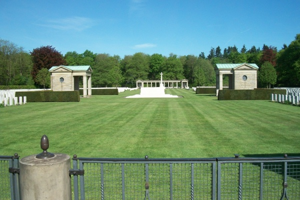 Cemetery– Entrance - Rheinberg War Cemetery - May 2015 Photo courtesy of Marg Liessens