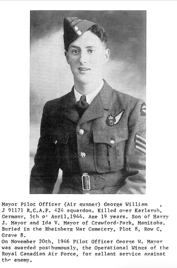 Photo of GEORGE WILLIAM MAYOR– Submitted for the project, Operation Picture Me
