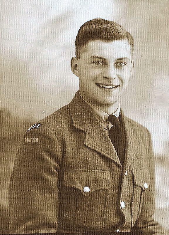 Photo of Herbert Donald Rathert– Corporal Herbert Donald Rathert, H/103768 Princess Patricia's Canadian Light Infantry, R.C.I.C. 