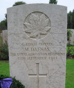Grave Marker– Photos taken during RCR and Signallers Op Husky Battlefield Tour October 2010. (Richard,Thomson.Holsworth,Nolan) Kingston group