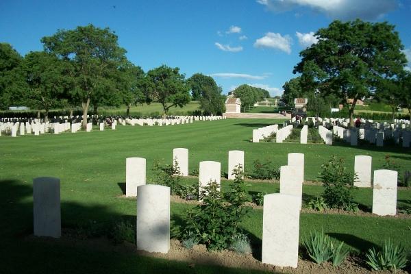 Cemetery– Coriano Ridge War Cemetery - May 2013 Photo courtesy of Marg Liessens