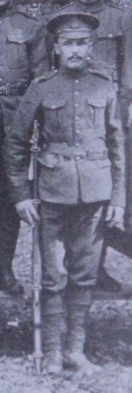 Photo of George Barratt– Served with the 35th Battalion CEF. Submitted for the project, Operation: Picture Me