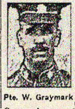 Newspaper clipping– Pte. Ernest Joseph Graysmark is mentioned in this article about his brother William.  Pte. Ernest Joseph Graysmark enlisted in the 208th Battalion in November 1916.  He died while serving with the 58th Battalion on August 7th, 1918.  His brother, Pte. William Graysmark, 164246, 75th Battalion, was killed at Vimy Ridge on April 9th, 1917.   In honoured memory of the Graysmark brothers.