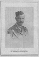 Photo of BARTLETT MCLENNAN– From the Loyal Edmonton Regimental magazine the Fortyniner.  Submitted for the project, Operation Picture Me