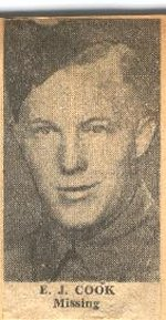 Photo of Etsel John Cook– Corporal Cook enlisted in 1943 and joined the Queen's Own Rifles of Canada in 1944 prior to D-Day.  He was in Dog Company and was one of the group of six riflemen taken captive by the 12 SS Panzer Division at Le Mesnil Patry. He and the others were executed about 17 June near the town of Mouen.