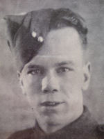 Photo of Bruce Franklin Elliott– Sergeant Bruce Franklin Elliott (March 6, 1918 - June 6, 1944) Greater love hath no man than this; that a man lay down his life for his friends.