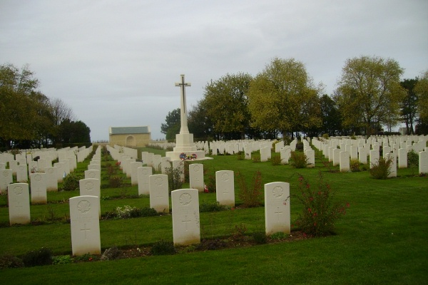 Cemetery– Beny-sur-Mer Canadian War Cemetery … photo courtesy of Marg Liessens