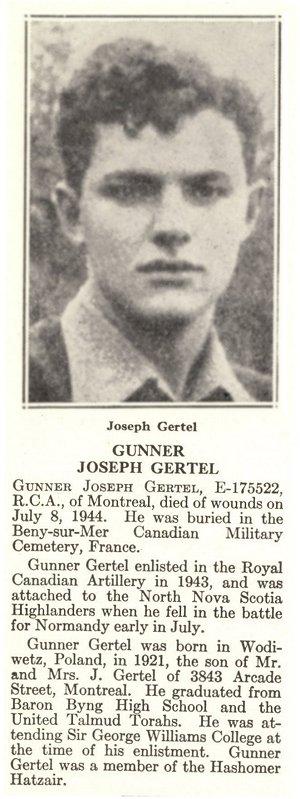 Photo of Joseph Gertel