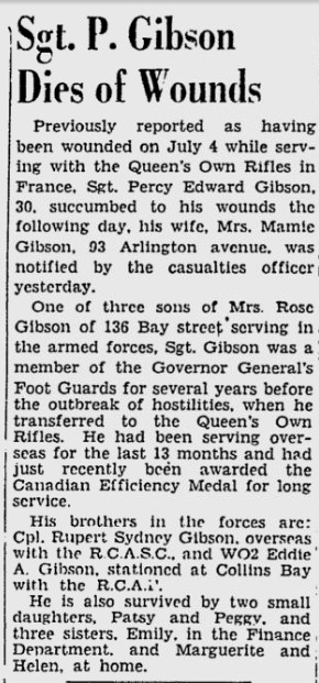 Newspaper Clipping– From the Ottawa Citizen. Submitted for the project, Operation: Picture Me