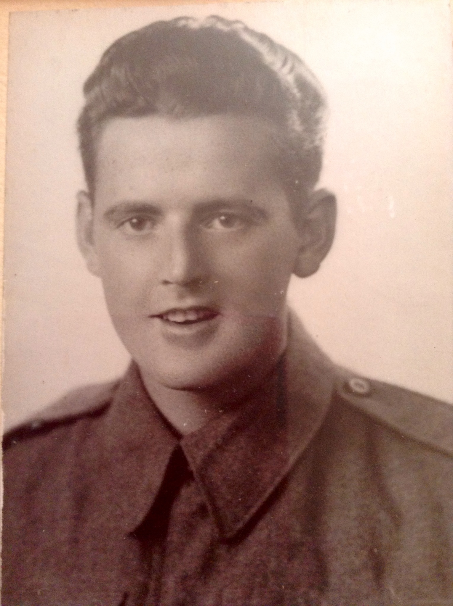 Photo of GEORGE ALBERT HADLEY– Memorialized on the pages of the Globe and Mail. Submitted for the project, Operation Picture Me