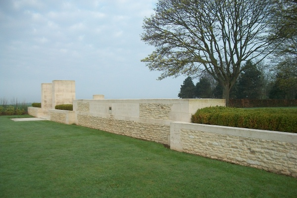 Entrance– Entrance - Beny-sur-Mer Canadian War Cemetery - April 2017 … photo courtesy of Marg Liessens