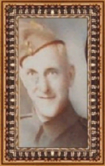 Photo of Richard Kenneth Kimmel– Corporal Richard Kenneth Kimmel Enlisted with Regina Rifle Regiment on July 4, 1940.