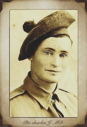 Photo of CHARLES JOHN MACDONALD– a photo of our dearly beloved Uncle Charlie who gave us the ultimate freedom we enjoy this day
