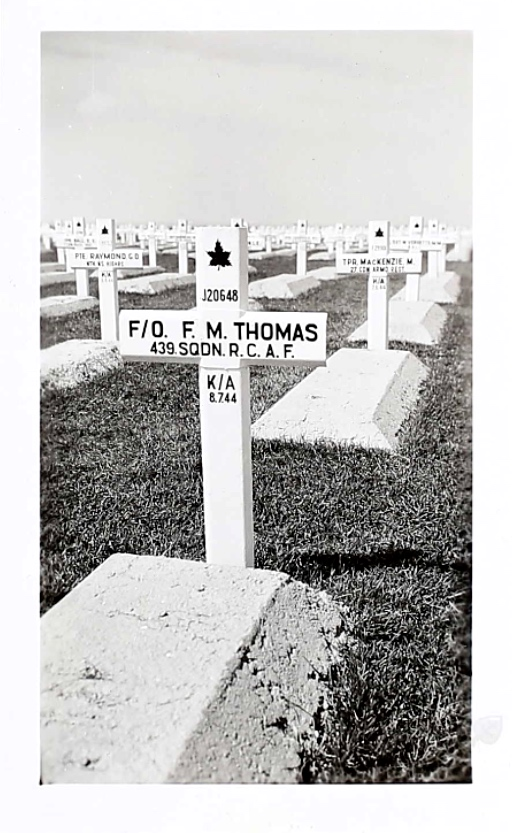 Grave marker– Malcolm's grave marker 2nd row right. Submitted for the project Operation Picture Me