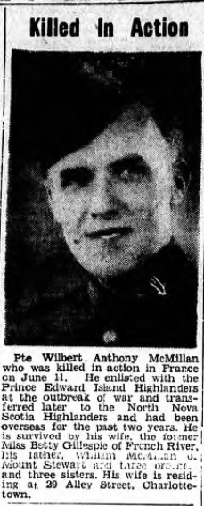Newspaper Clipping– From the Charlottetown PEI newspaper The Guardian. Submitted for the project, Operation: Picture Me