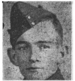 Press Clipping– From a collection of newspaper clippings (album), donated to the Royal Canadian Legion Bernard Croak VC branch 003 by Shirley (Terrio) Green in memory of her mother Olive (Newell) Terrio.