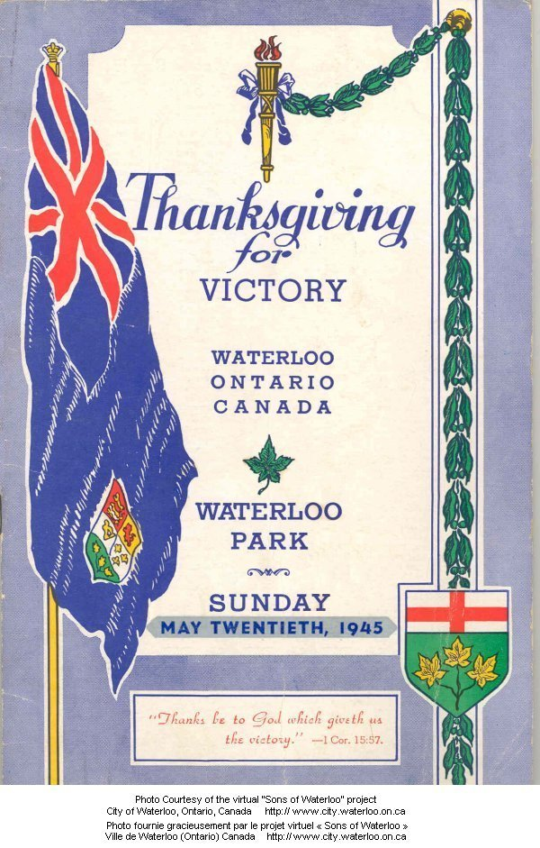 Thanksgiving for Victory memorial service