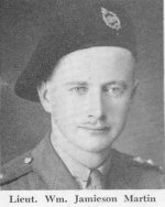 """Photo of William Jamieson Martin– Lieutenant William Jamieson Martin was remembered at the """"Thanksgiving for Victory"""" memorial service in Waterloo, Ontario on Sunday, May 20, 1945."""