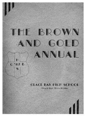 Year Book Cover