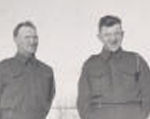 Group photo– Donald at right, brother Neil at left. Submitted for the project, Operation: Picture Me