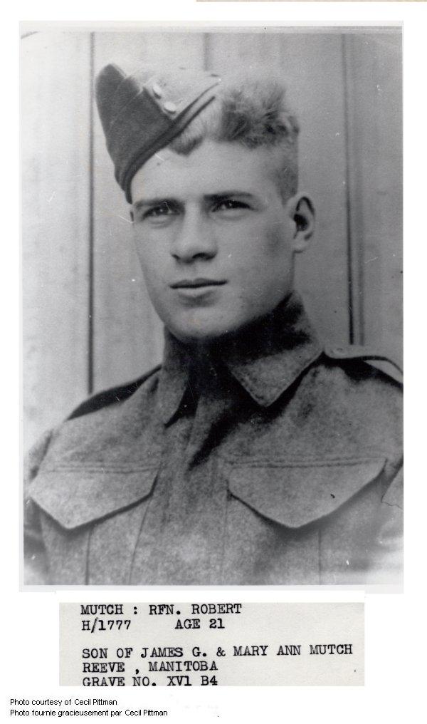 Photo of Robert Mutch