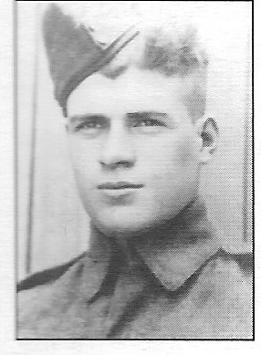 Photo of ROBERT MUTCH– His brother Andrew is also buried in Beny-Sur-Mer.  Submitted for the project, Operation Picture Me